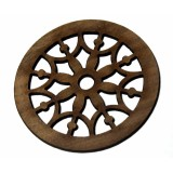Ροζέτα ξύλινη από Καρυδιά Αμερικής  45mm.