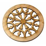 Ροζέτα ξύλινη από Σφενδάμι 45mm.