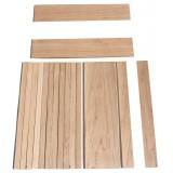 Σετ ξυλείας Σφενδάμι για σκάφος μπαγλαμά