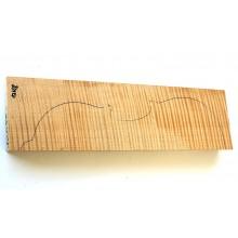 Πλάτη βιολιού από σφενδάμι Flame Extra