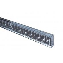 Οδηγός ταστιέρας κλίμακας 38 για μπαγλαμά από ακρυλικό 8mm