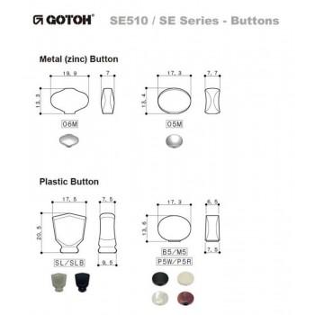 Κλειδιά Gotoh SE510-SLB (3+3).
