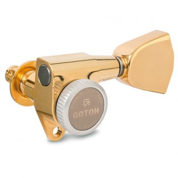 Κλειδιά Gotoh SG381-MG-T Gold 3L+3R.