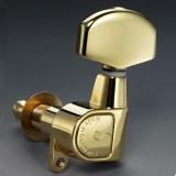 Κλειδιά ηλεκτρικής και ακουστικής κιθάρας SCHALLER M6 Χρυσά 3l + 3R 10010523