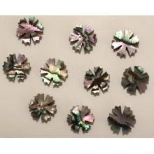 Dots μαργαρίτα για ταστιέρα από όστρακο Paua 6.5mm.