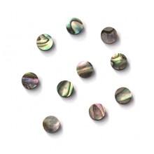 'Οστρακα Hosco Abalone dots 5mm για ταστιέρα.