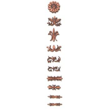 Σετ οδηγοί ταστιέρας No 16 από αγριοαχλαδιά 2 εως 2.5 mm