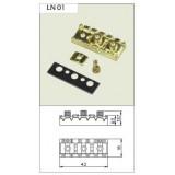 Locking Nut LN 01 Chrome.