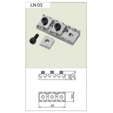 Locking Nut LN 05 Chrome.