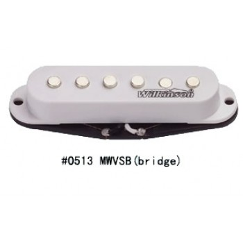 Μαγνήτης κεραμικός Wilkinson MWVSB (Bridge) single coil για Stratocaster.