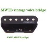 Μαγνήτης κεραμικός Wilkinson MWTB (Bridge) vintage voiced tele style.