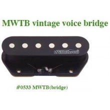 Μαγνήτης κεραμικός Wilkinson MWTB (Bridge) vintage voiced tele style.
