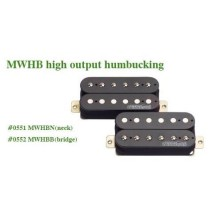 Μαγνήτης κεραμικός Humbucker Wilkinson MWHB B (Bridge) High Output.
