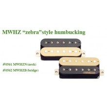 Μαγνήτης κεραμικός Humbucker Wilkinson MWHZ N (Neck) High Output Zebra style.