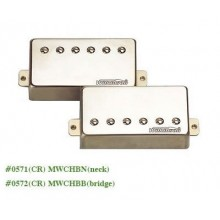 Μαγνήτης κεραμικός Wilkinson MWCHB N (Neck) Chrome Great Tone Humbucker.