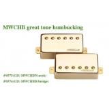 Μαγνήτης κεραμικός Wilkinson MWCHB B (Bridge) Gold Great Tone Humbucker.