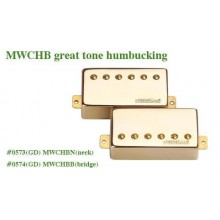 Μαγνήτης κεραμικός Wilkinson MWCHB B (Bridge) Gold Great Tone Humbucker.