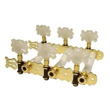 Κλειδιά κλασικής κιθάρας Gebr Van Gent 29.01 G/B Gold.