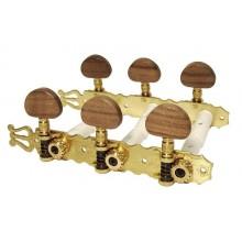 Κλειδιά κλασικής κιθάρας Gebr Van Gent 129.01 N Brass.