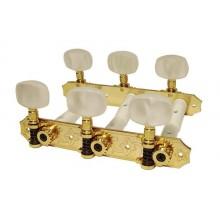 Κλειδιά κλασικής κιθάρας Gebr Van Gent 328 Gold.