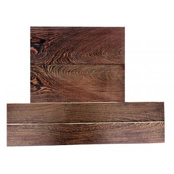 Σετ ξυλείας Venge για σκάφος κλασικής κιθάρας.