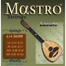Σετ χορδές Mastro Silver plated για Στεριανό Λαούτο.