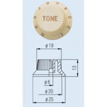 Tone Knob KPT-14 Fender style ST.