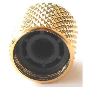 Μεταλλικό Knob NB-003 Μαύρο.