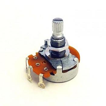 Ποτενσιόμετρο Hosco POT-500A 500K A type knurled shaft.