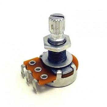 Ποτενσιόμετρο Hosco POT-2501 mini pot 250K A type knurled shaft 16mm dia.