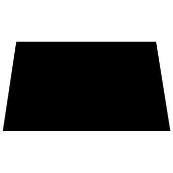 Pickguard 3ply PG 100BB Black 29x44cm.