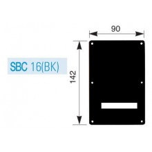 Spring Cover SBC-16 Black.