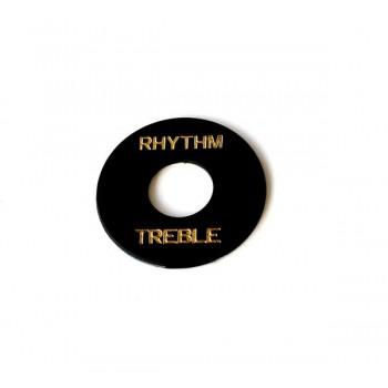 Switch Plate RT-103 Black.