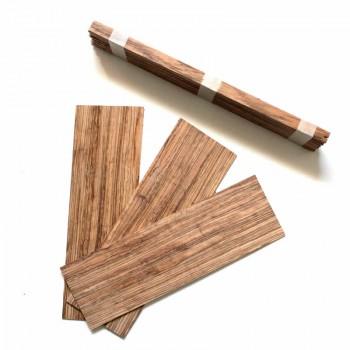 Σετ ξυλείας Zebrano για σκάφος Τζουρά.